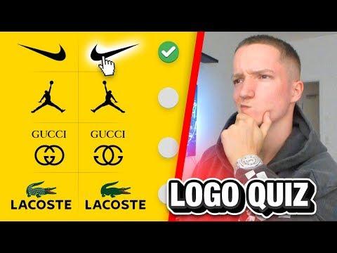 Das Fashion-Marken Logo Quiz..