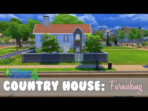 Country/holiday house - Furnishing ||Norwegian_Simmer|| (Sims 4)