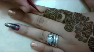 simple and easy henna mehandi design