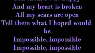 Maddi Jane  - Impossible by Shontelle W/ Lyrics