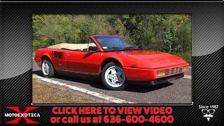 1986 Ferrari Mondial 3.2 Cabriolet -- SOLD