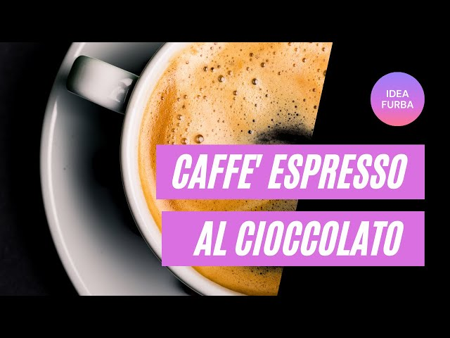 Caffé espresso al cioccolato #shorts