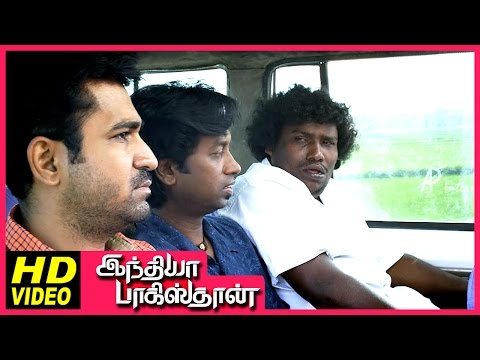 India Pakistan Tamil Movie | Scenes | Pasupathy Takes Vijay Antony To His Village | Sushma Raj