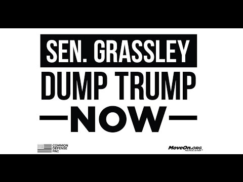 Iowa Veterans #UnitedAgainstHate deliver petition opposing Trump to Sen Grassley
