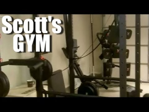Personal trainer austin scott york s garage gym youtube