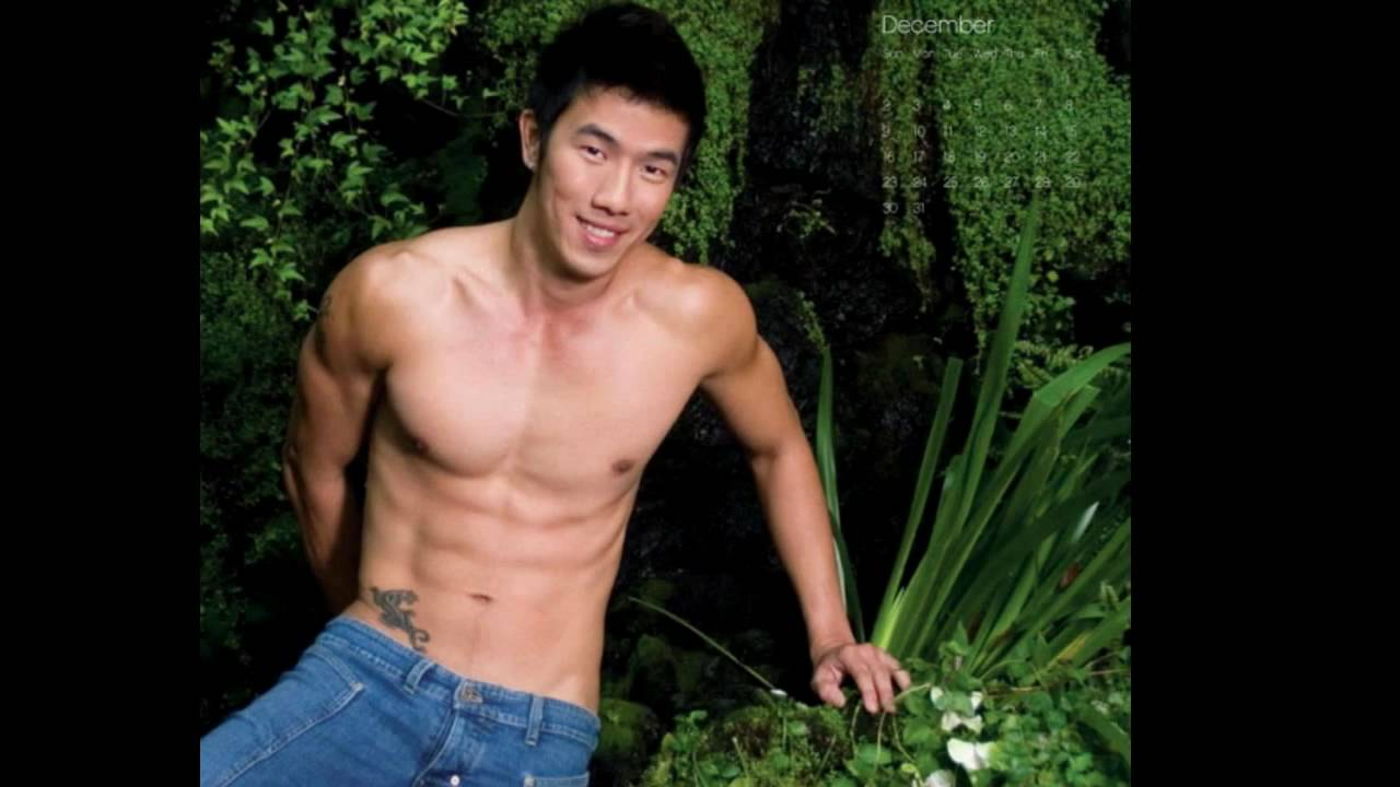 male models asian naked