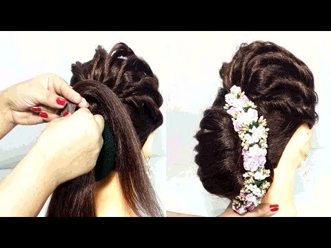 Awesome Hairstyle for party/wedding || Hairstyles for long hair || Hair Style Girl || hairstyles thumbnail