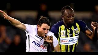Usain Bolt Create HISTORY Scoring 2 Goals For Central Coast Mariners