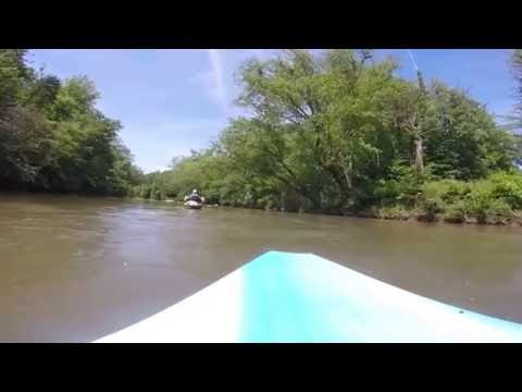 kayaking the dan river 2016