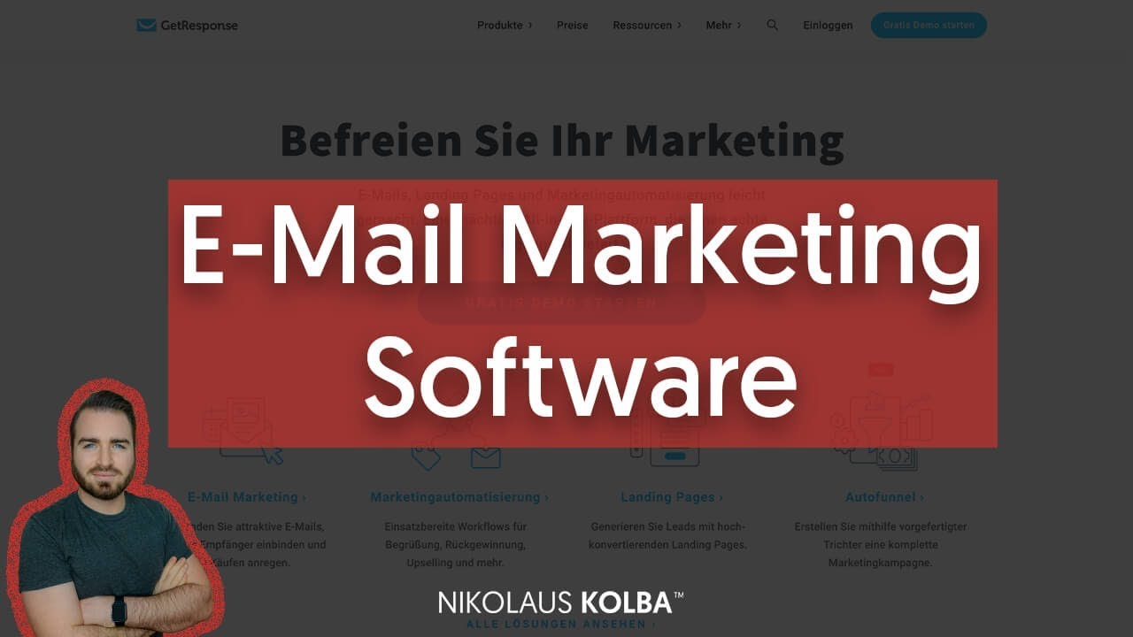 Getresponse Review Gutes E Mail Marketing Tool Video