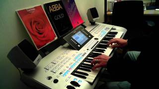 What Now My Love Klaus Wunderlich Style Yamaha Tyros 4 Gilbert Bécaud Et Maintenant
