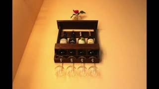 Wine & Glass Rack(, 2016-05-30T20:05:01.000Z)