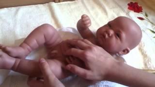 Обзор на куклу-младенца Тони, Munecas Antonio Juan