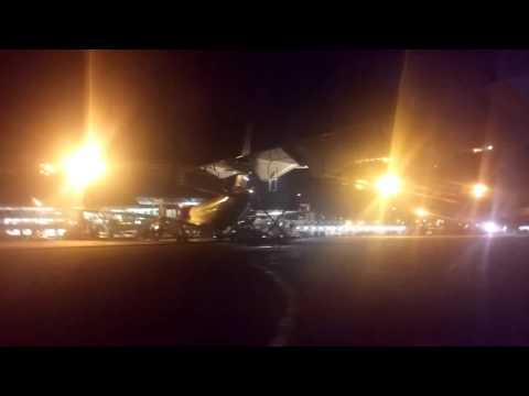 Landing in Fort de France Airport FDF -- Air Antilles Express ATR 42-500
