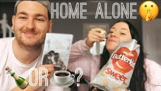 HOME ALONE FOR THE DAY   COUPLE'S VLOG
