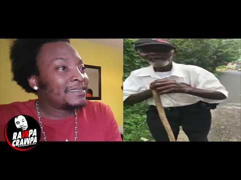 Jamaican Old Man Chatting Up Young Gal Look Yah ( 16 June 2018 ) Rawpa Cawpa Vlog