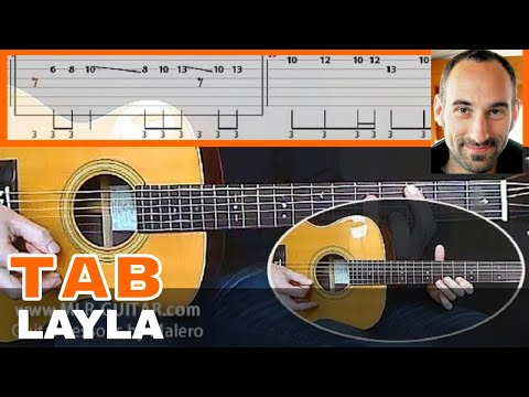 Layla unplugged Guitar Tab