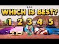 ROBLOX JAILBREAK WHAT IS THE BEST CAR IN THE GAME!? (ROBLOX EXPERIMENT)