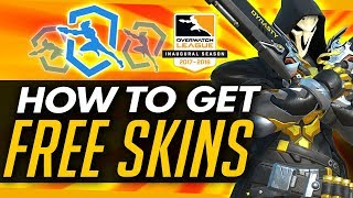 Overwatch | HOW TO GET FREE OWL TOKENS + New Skins & Twitch Emotes