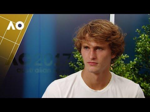 Post-match interview with Alexander Zverev (1R) | Australian Open 2017