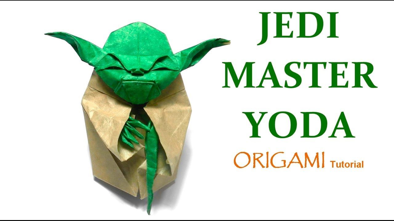 tutorial origami yoda