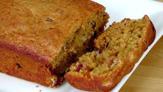 Fruity Nutty Pumpkin Bread Recipe - Laura Vitale - Laura In The Kitchen Episode 227