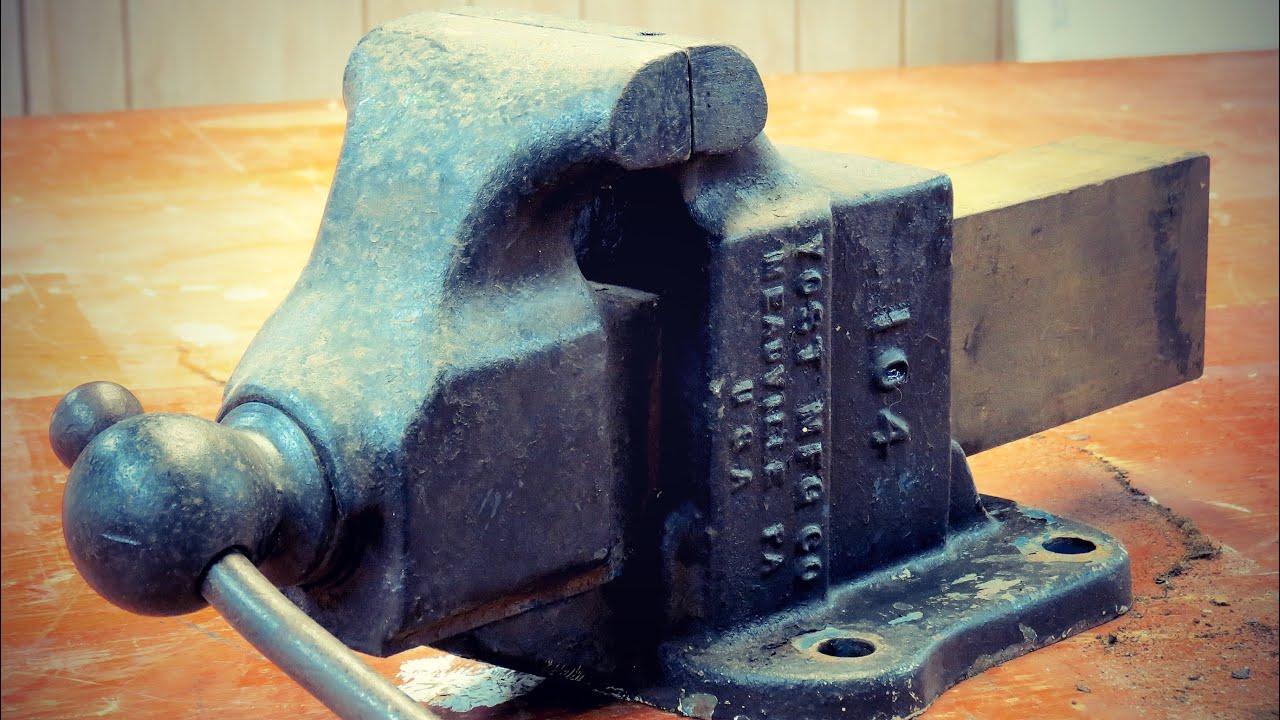 Vise Restoration & New Handle