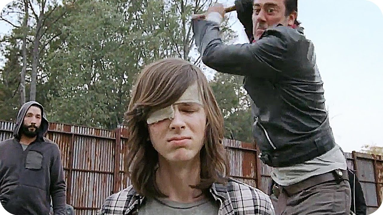 the walking dead season 7 episode 16 recap clip featurettes 2017