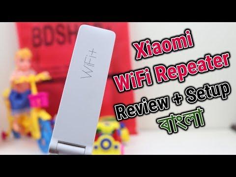Xiaomi WiFi Repeater 2   Full Review & Setup   Bangla   Technology Times BD
