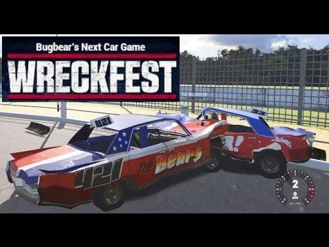 Wreckfest: Banger Racing Crashes With Gildo #6. Modded ( New Banger cars )