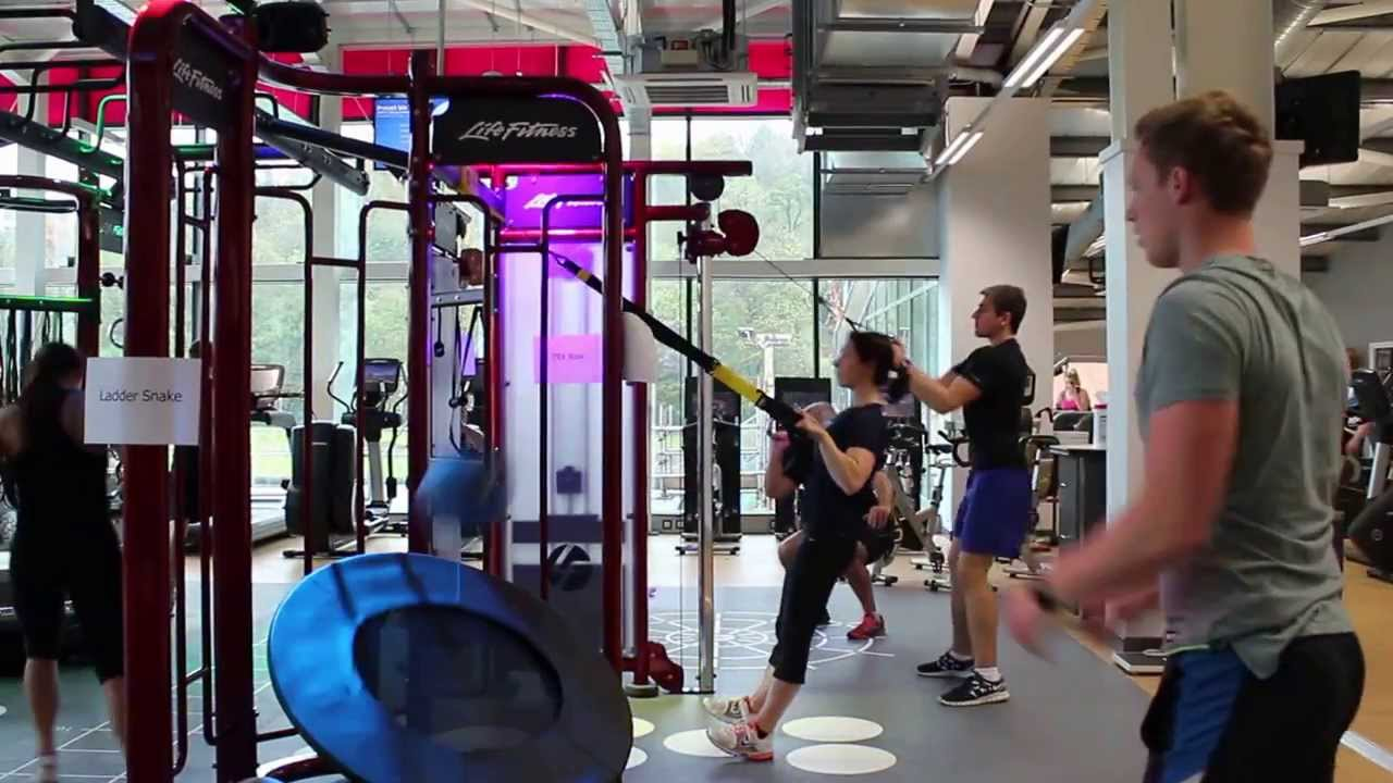 Withdean sports complex life fitness synergy 360 youtube for Gimnasio 360 life