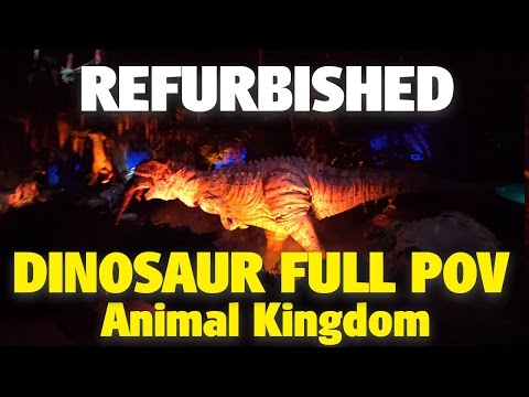 NEW Refurbished Dinosaur | Animal Kingdom | 4K POV
