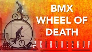 BMX Tricks you have NEVER seen before! | BMX Wheel of Death #CirqueShop | Cirque du Soleil