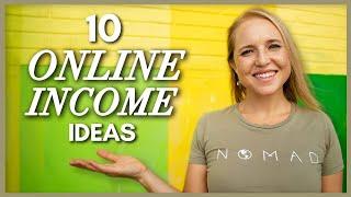 10 Ways I Make Money Online - My Top Ten Online Income Streams