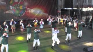 """Łemkowski Zespół Pieśni i Tańca """"Kyczera"""" - Podlaska Oktawa Kultur 2012"""