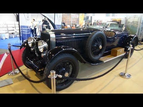 1930 Hispano-Suiza H6C - Exterior and Interior - Retro Classics Stuttgart 2018