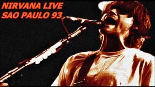 NIRVANA LIVE - SOMETHING IN THE WAY - SAO PAULO - BRAZIL (01/16/1993)