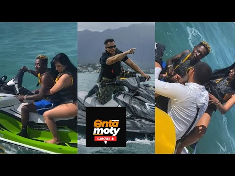 Shatta Wale Nearly Escape Miami Police For Reckless Jetski Driving