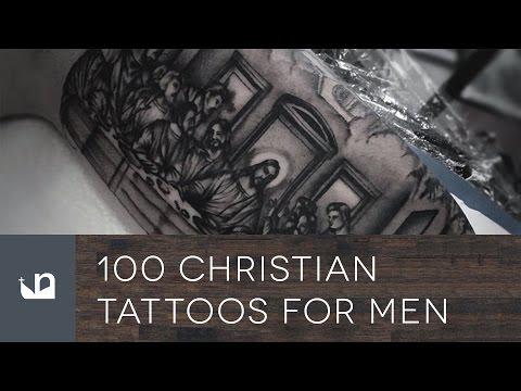 100 Christian Tattoos For Men