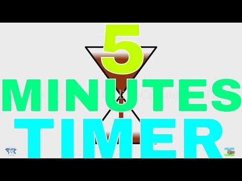 5 Minutes Sand Timer