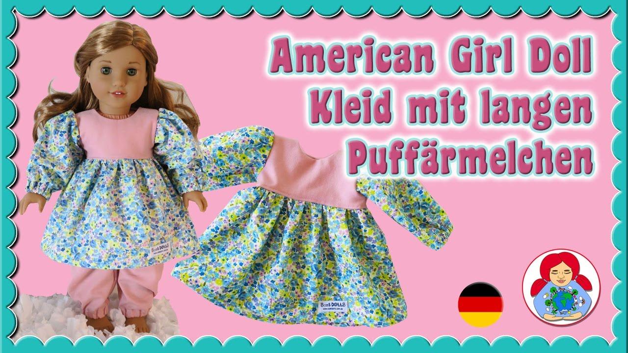 DIY | Puppenkleid Oberteil mit langen Puffärmelchen selber nähen ...