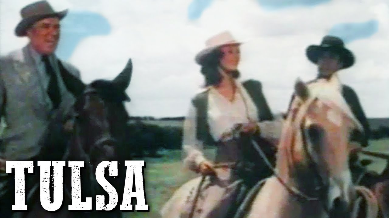 Tulsa | Susan Hayward | FULL WESTERN MOVIE | Romance | English | Free Cowboy Movie