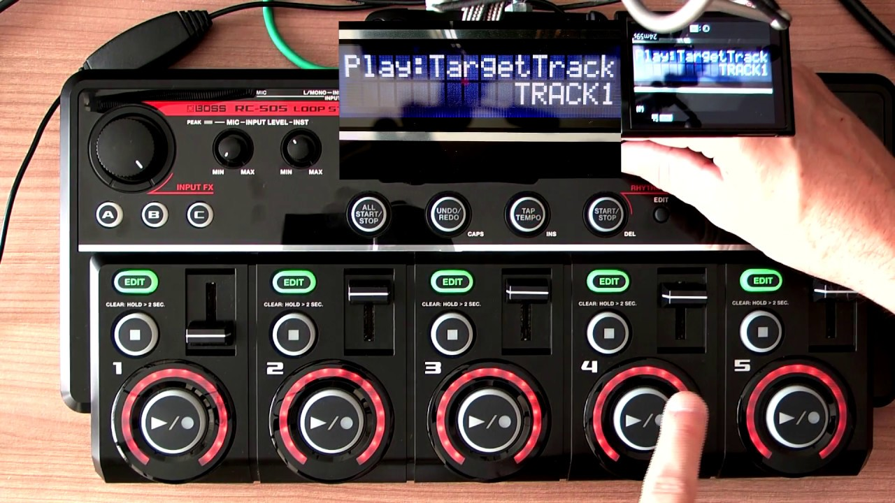 Boss RC-505 videotutorial 1 con Marcos Martinez