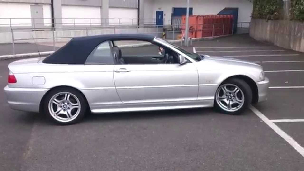 bmw 325 msport convertible 2002 review - youtube