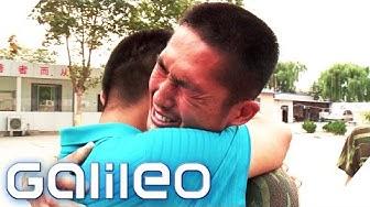 Boot Camp für Internetsüchtige in China   Galileo   ProSieben