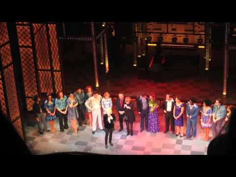 Beautiful - Carole King congratulates the London cast after a great opening night