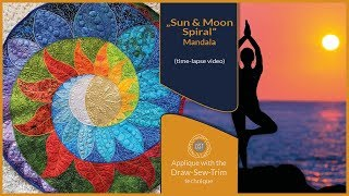 How it was made - Sun and Moon Spiral Mandala (DST / Time-lapse)