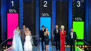 Анастасия Заворотнюк и Михаил Боярский заняли 2 место в шоу