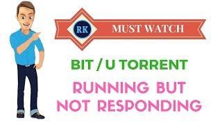 Torrent already running but not responding solved 2017