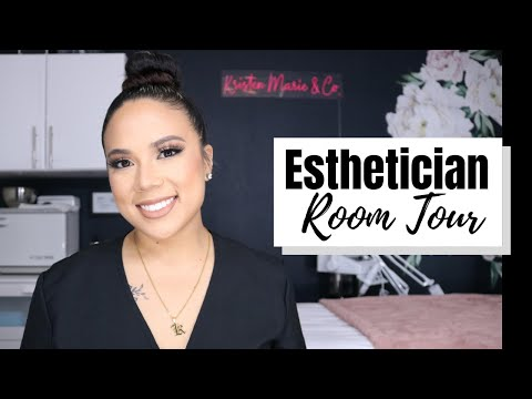 BEAUTY ROOM FROM SCRATCH | PART 7 | ESTHETICIAN ROOM TOUR